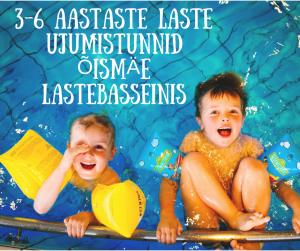 3-6 AASTASTE LASTE UJUMISTUNNID ÕISMÄE LASTEBASSEINIS
