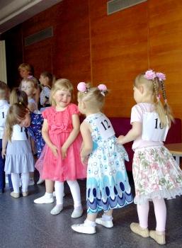 Väikeste tantsulaste hooaja lõpetamine