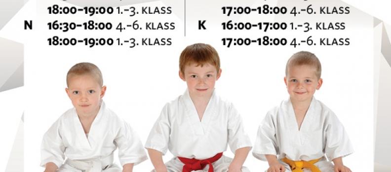 Uued judo treeningud!